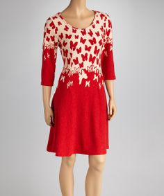 Red Butterfly Dress | Daily deals for moms, babies and kids