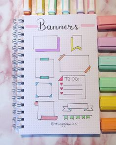 Bullet Journal School, Bullet Journal Boxes, Bullet Journal Lettering Ideas, Journal Fonts, Bullet Journal Notebook, Bullet Journal Ideas Pages, Bullet Journal Inspiration, Bullet Journal Aesthetic, Study