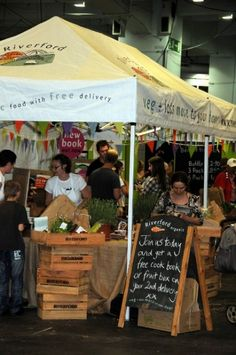 Food Market on the Southbank Saturdays