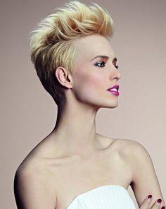 Taglio capelli corti Primavera Estate © Camille Albane
