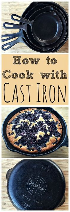 How to Cook with Cast Iron is part of Cast iron skillet cooking - Cooking with cast iron skillets and dutch ovens isn't as difficult as you might think! Learn how to cook with cast iron and how to care for it Dutch Oven Cooking, Dutch Oven Recipes, Cooking Tips, Cooking Recipes, Cooking Classes, Cooking Games, Cooking Pasta, Camping Cooking, Cooking Bacon