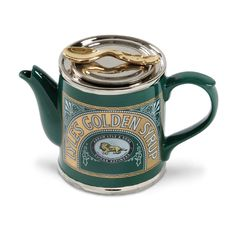 by Teapottery English Teapots  Teapottery - Tate and Lyle Syrup Teapo