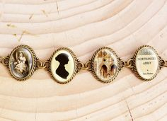 I just love these bracelets, and soooo want this one.. Jane Austens Northanger Abbey  Literature Bracelet by wiccanstyle, €22.50