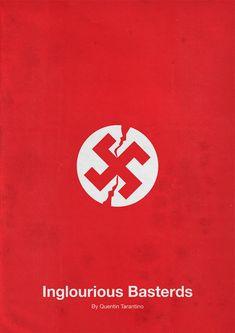 Inglorious Basterds Minimalist Movie Poster Design by Eder Rengifo