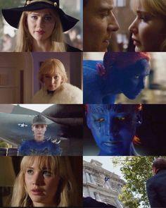 Jennifer Lawrence in X Men: Days of Future Past