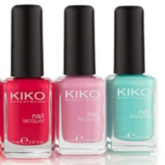 KIKO nail polishes new colors!!