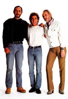"""Pete Townshend, Roger Daltrey & John Entwistle """"Daltrey Sings Townshend"""" 1995"""