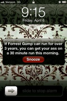 Don't press snooze