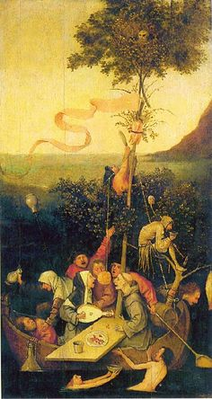 Bosch - ship of fools.
