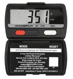 Accusplit AX2720 Accelerometer PedometerSteps  Activity Timer *** Visit the image link more details.(This is an Amazon affiliate link and I receive a commission for the sales)