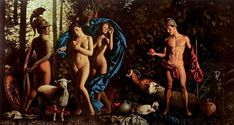"""The Judgment of Paris"" by Alexey Golovin."