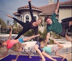 The family who planks together, stays together