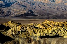 www.karltonhuberphotography.com posted a photo:  Morning Light - Zabriskie Point. ©Copyright 2017 Karlton Huber Photography - all rights reserved.  I made this photograph in November of 2014 and remember this day as if it were yesterday.  A cool and breezy November morning in Death Valley National Park. I woke several times throughout the night as gusty winds shook my tent. I finally gave in and rolled out of my warm and cozy sleeping bag at 445AM. By headlamp I started a pot of coffee, then…