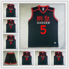 Find More Sports Jerseys Information about GAKUEN High School #5 Aomine Daiki Basketball Jersey And Shorts Kuroko no Basuke Mens Basketball Cosplay Costumes,High Quality costume geisha,China jersey skirt Suppliers, Cheap costume gift from Sport Accessories And Animation model Store on Aliexpress.com