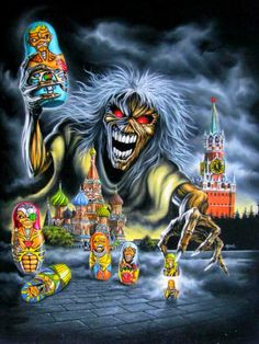#eddie #iron #maiden #heavy #metal