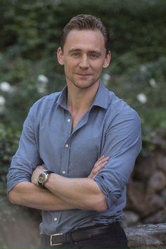 Tom Hiddleston at CrimsonPeak press conference on September 28, 2015 in Rome, Italy.