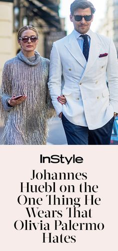 Johannes Huebl On the One Thing He Wears That Olivia Palermo Hates from…