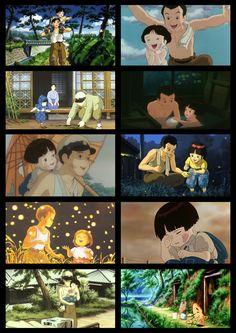 Ok, on l'avoue, nous avons tous chialer devant ce film, à 14 ans comme à 70. Le tombeau des lucioles Hotaru No Haka, Isao Takahata, Grave Of The Fireflies, Studio Ghibli Movies, Hayao Miyazaki, Manga Comics, Digimon, Feature Film, Anime Love