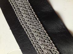 Tin wire needlework