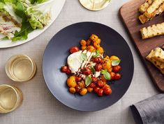 Let's be honest, anything involving burrata is gonna be good, but this dish—which combines the creamy cheese with blistered cherry tomatoes, grilled focaccia, and a drizzle of syrupy aged balsamic vinegar—is pretty exceptional. If you …