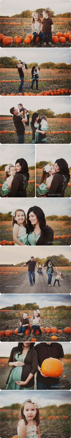 Pumpkin patch pics for hayleigh's 2nd birthday... I think so!