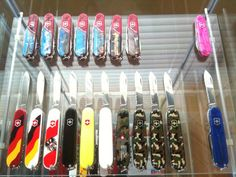 Detolf Display Cabinet for my SAK Collection (Pictures) - page 1 - Swiss Army Knights Forum - Multitool.org