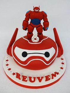 Baymax cake by Cake Inspiration