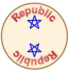Thin Bordered Pentagram Star Magnet