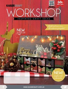 Workshop magazine september Kaisercraft