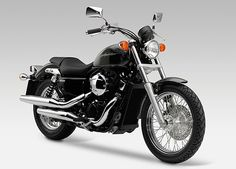 Honda Shadow - Simple, a little retro, and just enough chrome to be sexy.