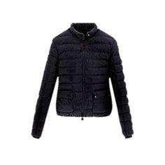 Moncler Fashion Black Jacket Women Outlet  Price : $590.56  $192.53  Save: 67% off