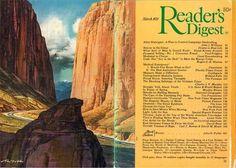 Saturday Evening Post, Magazine Illustration, Readers Digest, Cool Landscapes, Esquire, Cover Art, Artist, Illustrations, Childhood Memories