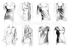 A study in women's casual by Spectrum-VII.deviantart.com on @deviantART