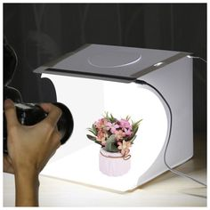 Business reliability is often judged by the Quality Images your brand advertising. Presents you 2 LED Lights Mini Photo Shooting Box for Professional Product shooting. Most suitable for small business Product photography. Softbox Photography, Tent Photography, Photography Studio Background, Product Photography, Photography Lighting, Landscape Photography, Mini Photo Studio, Portable Photo Studio, Mini Lightbox