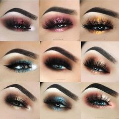Which eye is your favorite? Tag your friend 💋 #goodnight