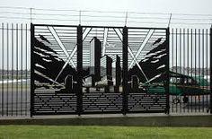 نتيجة بحث الصور عن steel fence