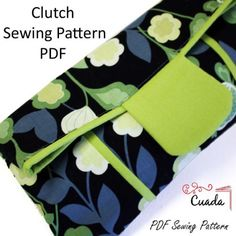 Free Fold-Over Clutch Bag Sewing ePattern