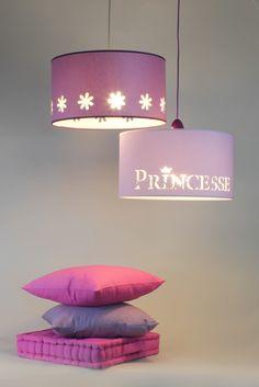 PRINCESSE - Abat-jour Princesse pour petite fille rêveuse! Nouvelle collection KERIA 2014
