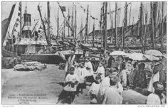 Bénédiction de la flottille des dundées de Groix