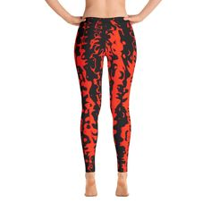 Legginssit Fire – JohannaDesign Sissi, Agra, Pajama Pants, Pajamas, Leggings, Deco, Fashion, Sleep Pants, Moda
