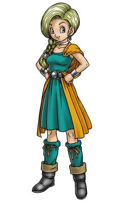 Bianca Whitaker - Characters & Art - Dragon Quest V: Hand of the Heavenly Bride