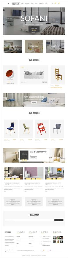 Sofani is a wonderful #bootstrap #HTML #template for #eCommerce Furniture Store & Interior Design company website download now➩  https://themeforest.net/item/sofani-furniture-store-html-template/18789834?ref=Datasata