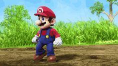 Mario, Samus, Link, Donkey Kong, Pit and Bowser