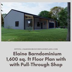 Elaine 40′ x 40′ – 3 bedroom – 2 bathroom (1,600 sq ft). We sell semi-custom Barndominium floor plans and provide helpful tips to design and build your home whether it is DIY or you are paying a company. #architecture #barndominiums #home #modernbarn #barnhomefloorplans #beautifulbarn #homefloorplan #barnhomedesign #housedesign #barndominiumfloorplans #floorplan #dreambarn #barnhouse #barndominiumliving #interiordesign #barndominiumdesign #shop #exteriordesign