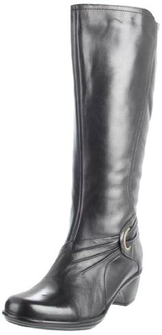 $100.94-$150.00 Clarks Women's Wish Excite Boot,Black Leather,9 M US - Take a step into the right direction of flexible comfort and superior style when you put on the Clarks Bendables Women's Wish Excite Tall Boot. Made with a durable thermoplastic rubber outsole, this boot will provide you with long-lasting wear, and the flexible outsole is designed to bend with your foot for a comfortable walk.  ...