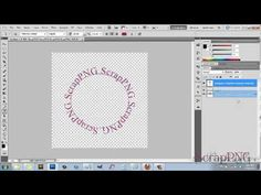 How To Create Text In A Circle - A Photoshop Tutorial