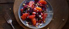 Beet and Tangerine Salad recipe by Deanna Curri