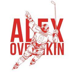 Washington Capitals Hockey, Alex Ovechkin, Poster, Billboard