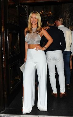 Turning heads: She's without doubt one of TOWIE's most glamorous cast members and Kate Wri...