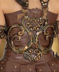 Todd's Costumes  - Xena  Costume | Backpiece, $99.95 (http://www.toddscostumes.com/costumes/xena-warrior-princess-costumes/xena-costume/xena-costume-backpiece/)
